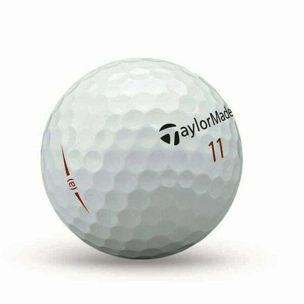 TaylorMade Project (s) matte golfbal met puttinglijn endouble didgit