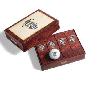 Golfbal doosje bedrukt in huisstijl