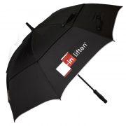 Sport golf en storm paraplu met windvang en automaat open