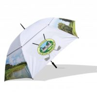 Vented stormbestendige golf paraplu