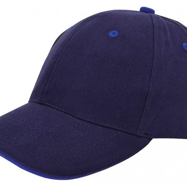 Heavy brushed katoenen cap