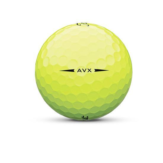 AVX golfbal geel