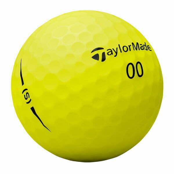 Project (s) golfbal geel met puttinglijn
