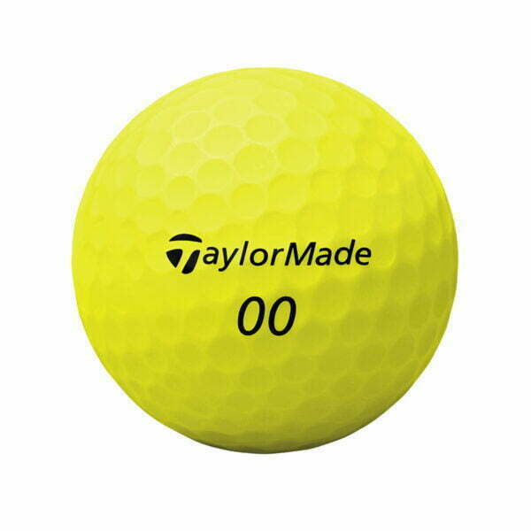 TaylorMade Project (s) matte golfbal geel double didgit